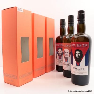 Cuba 2000 Samaroli Rum #3, Cuba 1998 Samaroli Rum #7, Cuba 1998 Samaroli Rum #8