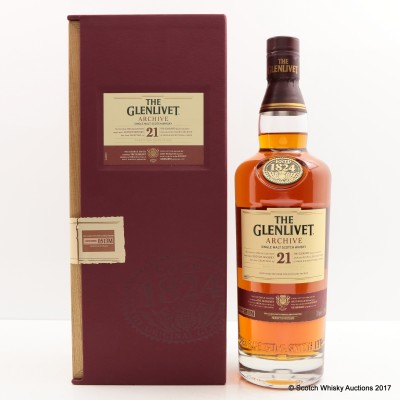 Glenlivet 21 Year Old Archive