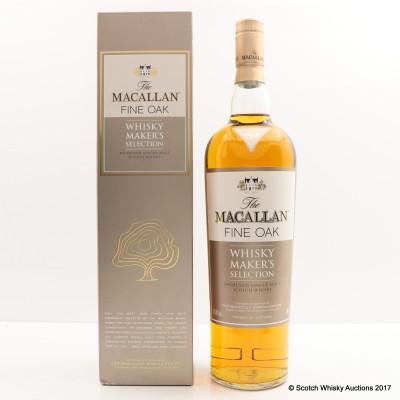 Macallan Fine Oak Whisky Maker's Selection 1L