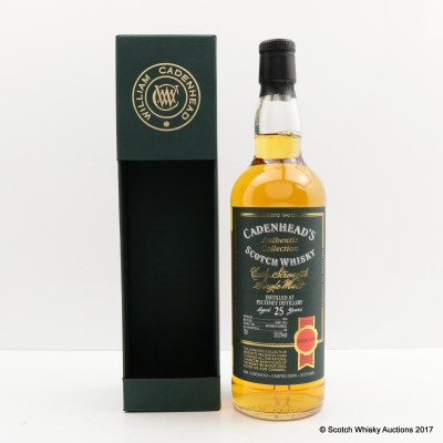 Old Pulteney 1990 25 Year Old Cadenhead's