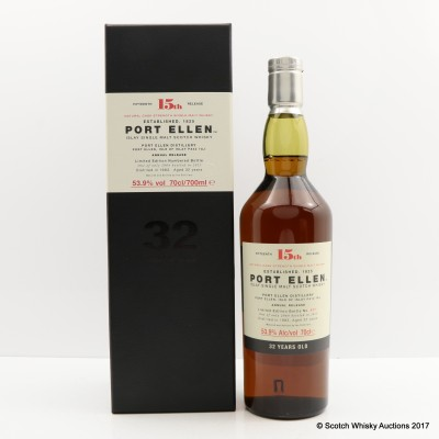 Port Ellen 15th Annual Release 1983 32 Year Old