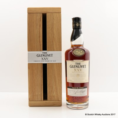 Glenlivet XXV 25 Years Old