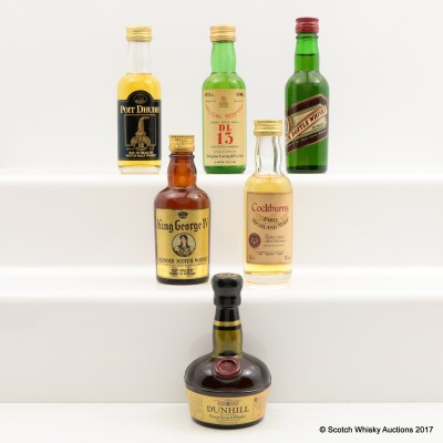 Assorted Minis 6 x 5cl Including Black Bottle 5cl