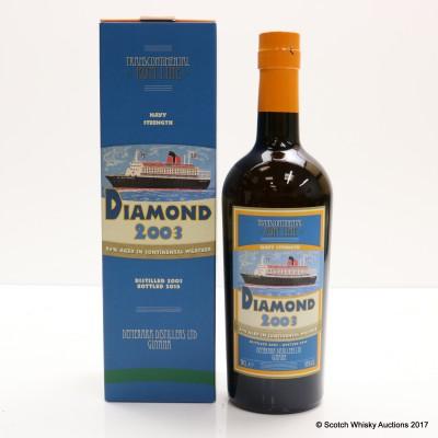 Diamond 2003 Transcontinental Rum Line