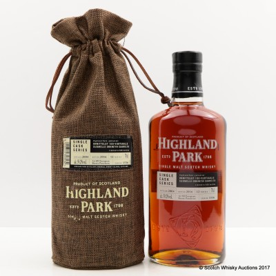 Highland Park 2004 12 Year Old Single Cask 100 Years of Finnish Independence