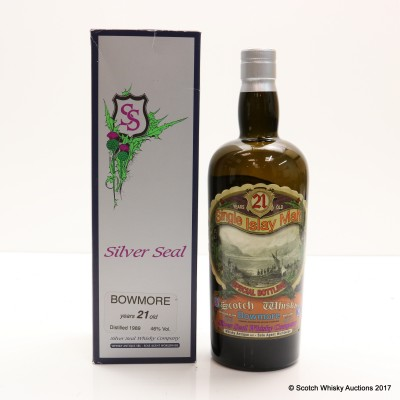 Bowmore 1989 21 Year Old Silver Seal