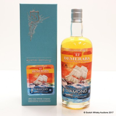 Diamond 12 Year Old Demerara Rum Silver Seal