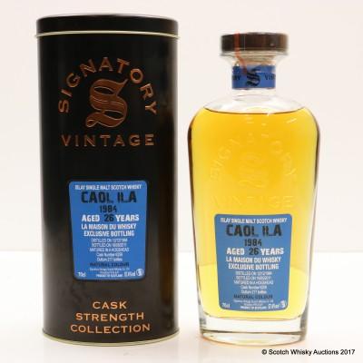 Caol Ila 1984 26 Year Old Signatory La Maison Du Whisky