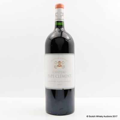 Chateau Pape Clement 2003 Pessac Leognan Grand Cru Classe 1.5L