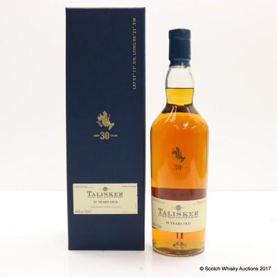 Talisker 30 Year Old 2011 Release