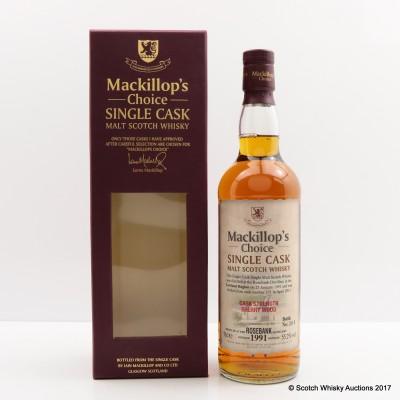Rosebank 1991 Mackillop's Choice