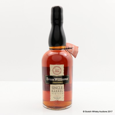 Evan Williams 2004 Single Barrel