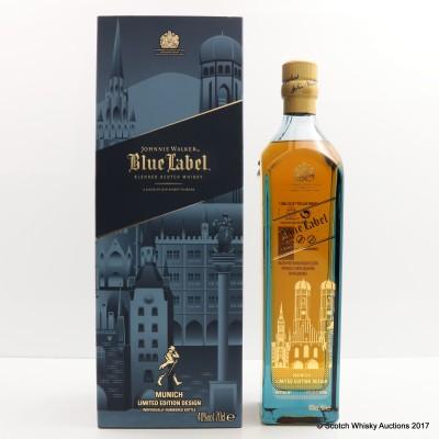 Johnnie Walker Blue Label Munich Limited Edition