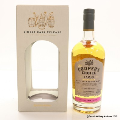 Port Dundas 1999 17 Year Old Cooper's Choice