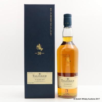 Talisker 30 Year Old 2009 Release