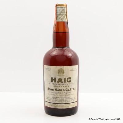 Haig Gold Label Spring Cap 75cl