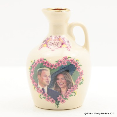 Rutherford's Ceramics Mini Flagon Royal Engagement