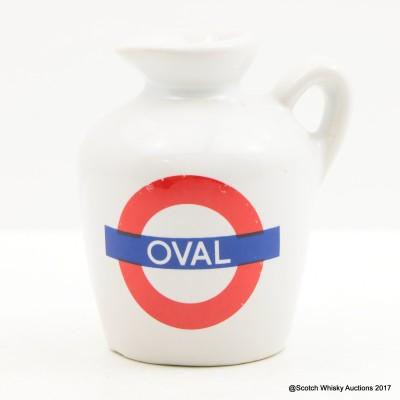 Macallan 10 Year Old Underground Series Oval Ceramic Mini 5cl