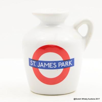 Macallan 10 Year Old Underground Series St. James Park Ceramic Mini 5cl
