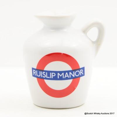 Macallan 10 Year Old Underground Series Ruislip Manor Ceramic Mini 5cl