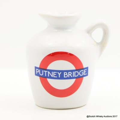 Macallan 10 Year Old Underground Series Putney Bridge Ceramic Mini 5cl
