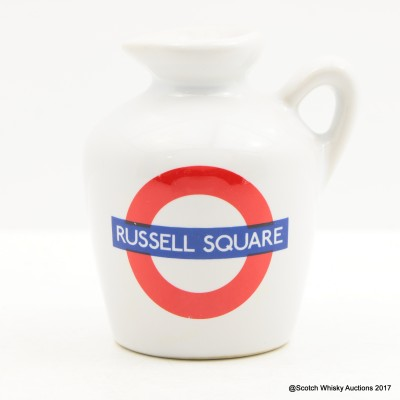 Macallan 10 Year Old Underground Series Russell Square Ceramic Mini 5cl