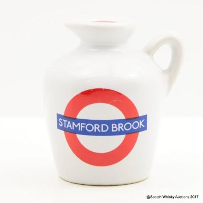 Macallan 10 Year Old Underground Series Stamford Bridge Ceramic Mini 5cl