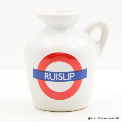 Macallan 10 Year Old Underground Series Ruislip Ceramic Mini 5cl