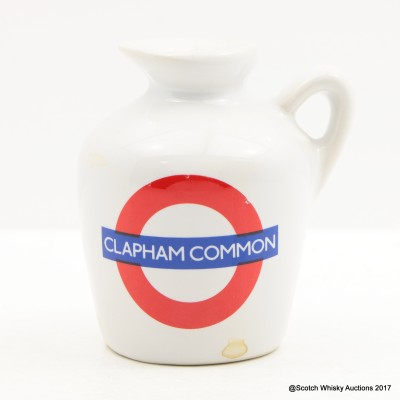 Macallan 10 Year Old Underground Series Clapham Common Ceramic Mini 5cl