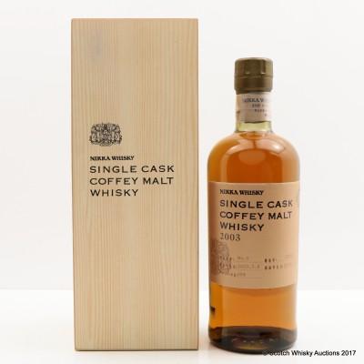 Nikka 2003 Coffey Malt Single Cask #130541