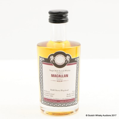 Macallan 1989 Malts of Scotland Mini 5cl