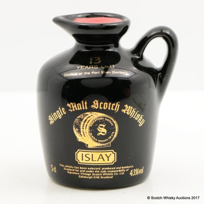 Port Ellen 13 Year Old Signatory Mini Flagon