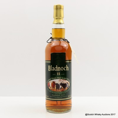 Bladnoch 11 Year Old Belted Galloway