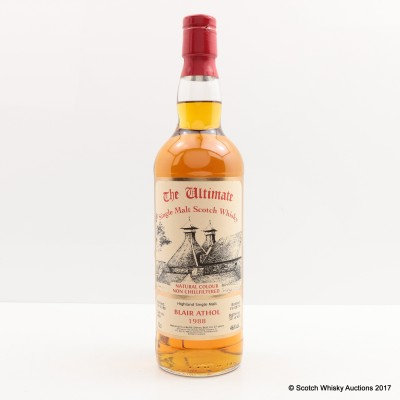 Blair Athol 1988 27 Year Old The Ultimate