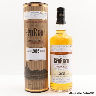 BenRiach 2005 7 Year Old Bourbon Cask