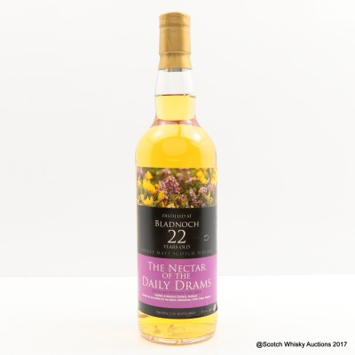 Bladnoch 1992 22 Year Old Nectar of The Daily Drams