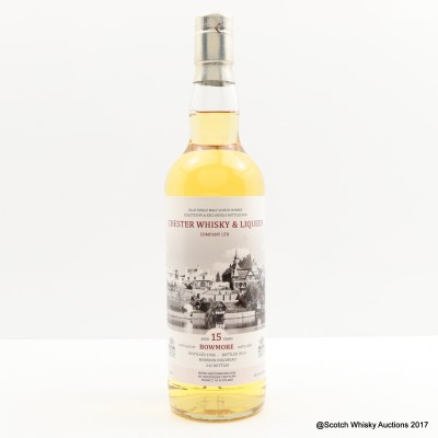 Bowmore 1998 15 Year Old Chester Whisky & Liqueur Co