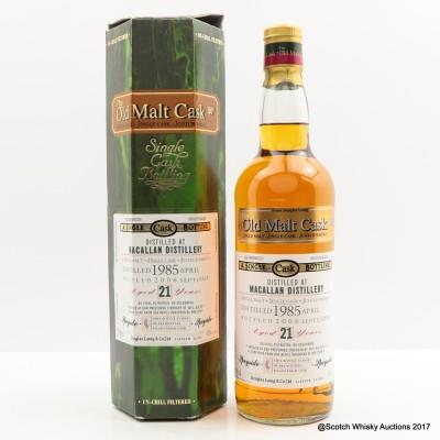 Macallan 1985 21 Year Old Old Malt Cask