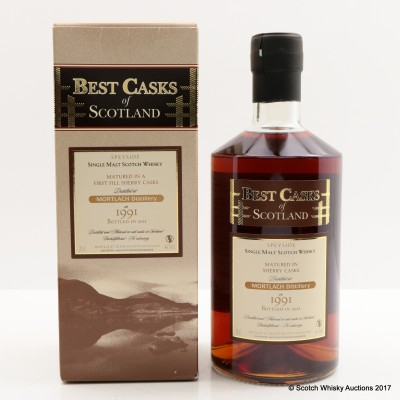 Mortlach 1991 Best Casks Of Scotland