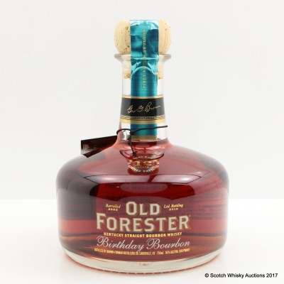 Old Forester 12 Year Old Birthday Bourbon 75cl