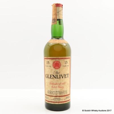 Glenlivet 15 Year Old 75cl