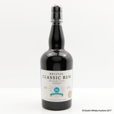 Rockley Still 16 Year Old Barbados Bristol Classic Rum