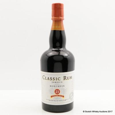 Monymusk 21 Year Old Jamaica Classic Rum