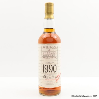 Macallan 1990 Wilson & Morgan