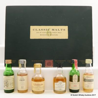 Classic Malt Collection 6 x 5cl