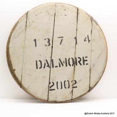 Dalmore Decorative Cask End