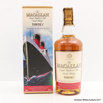 Macallan Decades Thirties 50cl