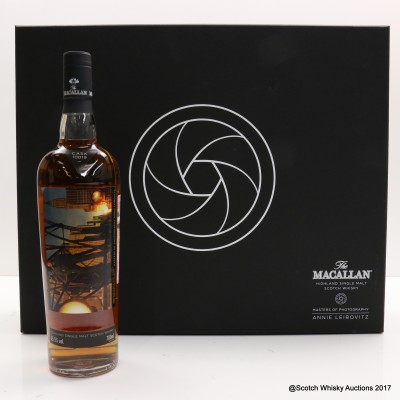 """Macallan Masters Of Photography Annie Leibovitz """"The Skyline"""" Label"""