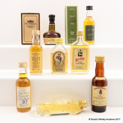 Assorted Minis 8 x 5cl Including Dew of Ben Nevis 21 Year Old