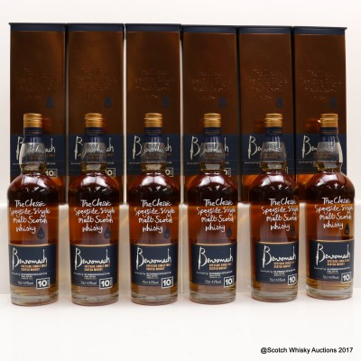 Benromach 10 Year Old 6 x 70cl